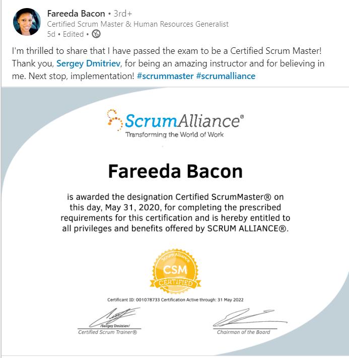 Fareeda Bacon